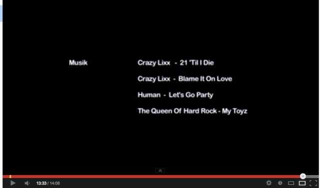 "Music credits from ""Älskade Groupies"". Click the photo to watch the short film!"